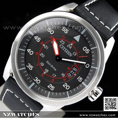 Citizen Eco Drive Aviator Leather Strap Mens Watch Aw1360 04e Watches For Men Mens Watches Citizen Aviator Watch