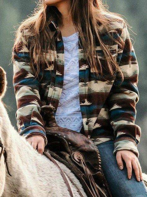 Buffarea Fahion Trend Western Jacket Plus Size Boho Print Striped Rider Outwear - Source by kiraktt - Western Outfits Women, Cowgirl Outfits, Cowgirl Clothing, Cowgirl Fashion, Cowgirl Dresses, Western Wear For Women, Cowgirl Jewelry, Western Dresses, Mode Outfits