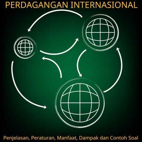 Perdagangan Internasional Penjelasan Peraturan Manfaat Contoh Soal Perdagangan Internasional Geografi