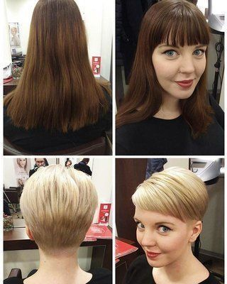 Pin By Ze Paganelli On Cambio Look Short Hair Styles Hair Makeover Short Hair Tutorial