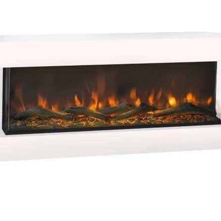 Disegno 3d Led Er En Elektrisk Vaegpejs I Et Laekkert Moderne Design Den Giver Et Electric Fireplace Fireplace Home Decor