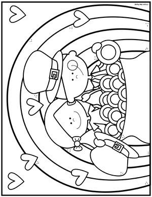 Coloring Club Library From The Pond Coloring Pages Coloring Books Color Club