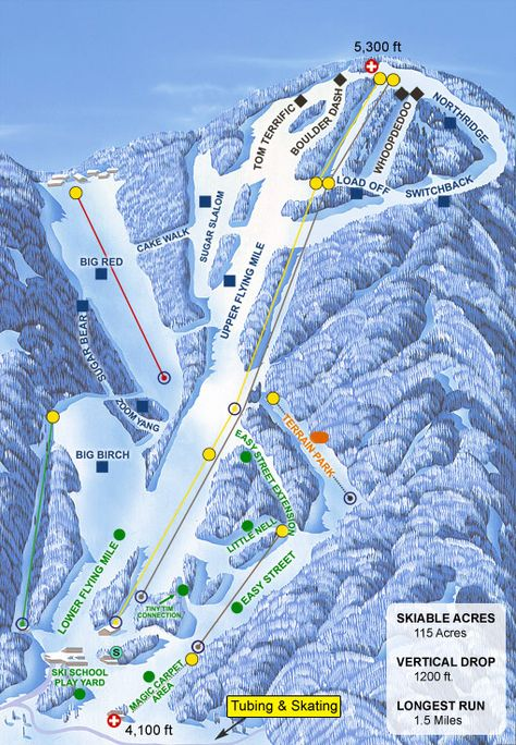 Sugar Mountain Ski Resort is nearby the town of Banner Elk. http://bit.ly/1hUw1mJ