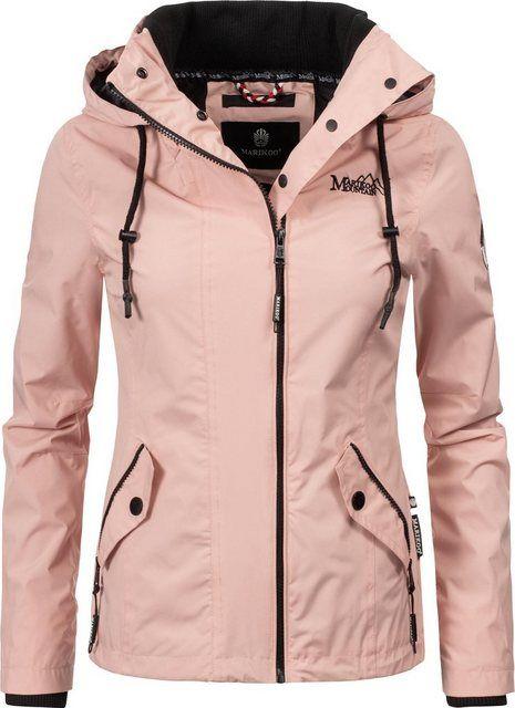 Marikoo Outdoorjacke Maliaa Ubergangsjacke Mit Kapuze Online Kaufen Jacken Windbreaker Jacke Und Bekleidung