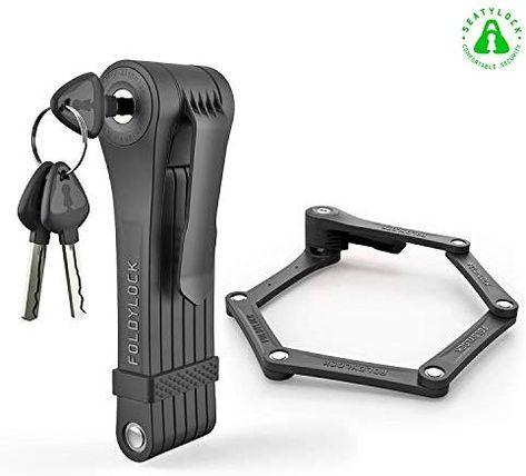 Foldylock Clipster Folding Bike Lock Wearable Compact Bicycle