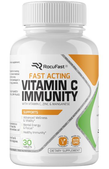 Rocufast Vitamin C Immunity Vitamin C And Zinc Immunity Booster Vitamins