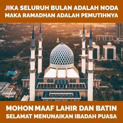 100 Kata Kata Ramadhan 2019 Ucapan Islami Di Bulan Puasa Islam