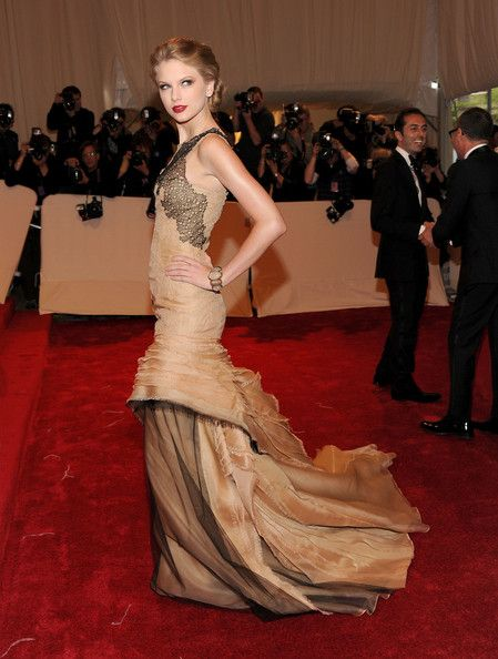 Taylor Swift in J. Mendel Couture, 2011 - The Most Daring Met Gala Dresses - Photos