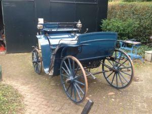 Historische Kutsche aus ca. 1802