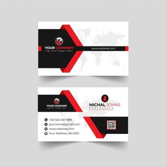 Modern Professional Business Card Business Cards Creative Graphic Design Business Card Free Business Card Templates