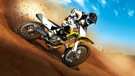 Suzuki Motocross Bike Hd 1080p Wallpapers Download Motory