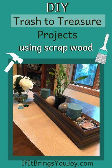 17 Diy Trash To Treasure Projects Using Scrap Wood Best