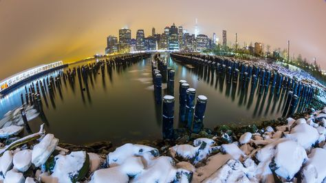 Manhattan Skyline by Fevzi Topcu on 500px