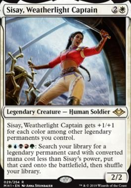 Sisay Weatherlight Captain Modern Horizons Magic The