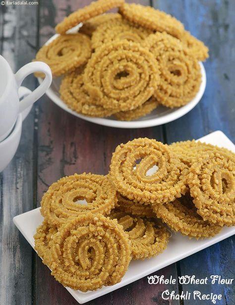 indian vegetarian recipes, Gujarati Snacks, Murukku (Chakkli