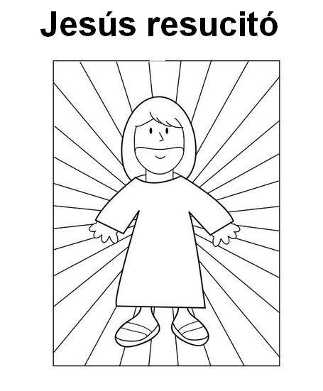 Ideas Nuevas De Manualidades Infantiles Para Semana Santa O Pascua Jesus Coloring Pages Jesus Is My Friend Bible Coloring Pages