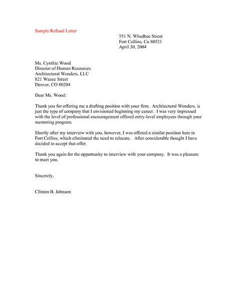 Invitation Refusal Letter Sample Ivoiregion Intended For Proposal