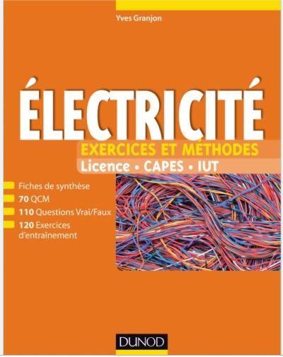 Electricite Exercices Et Methodes En Pdf Genie Electromecanique Books Online Library Pdf