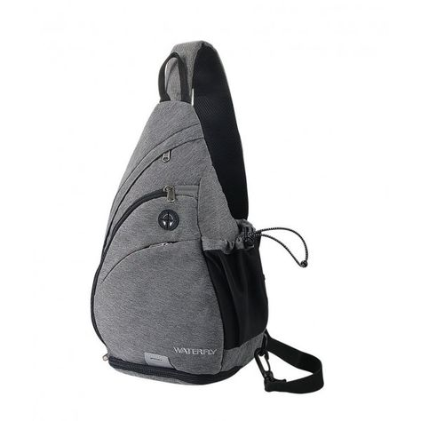 271523f5c Backpack WATERFLY Crossbody Daypack Rucksack - gray - C81836EKNCH - Men's  Bags, Crossbody Bags #bagsformen #CrossbodyBags #mensbags #Officebag  #Handbags