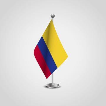 Brillante Icono De La Bandera De Colombia Con Formas De Escudo Corazon Circulo Y Rectangulo En Marco De Plata Bandera De Colombia Colombia Fotos De Colombia