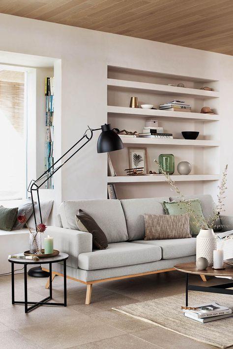 Minimalistische Wohnidee Im Skandinavischen Stil Fur Dein