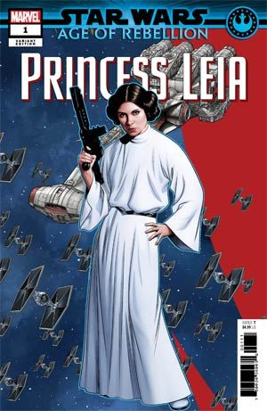 New Comic Book Release April 10 2019 Princess Leia Leia Comic
