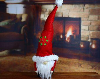 Santa Christmas Gnome Etsy Christmas Gnome Gnomes Secret Santa Gifts