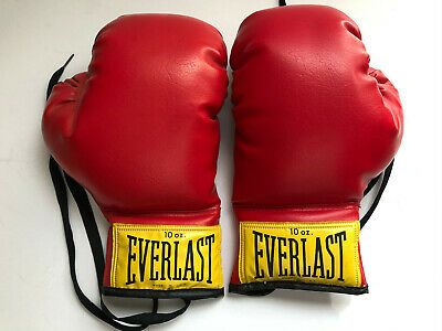 1 Pair Red 18oz Boxing Gloves New Punching Gloves