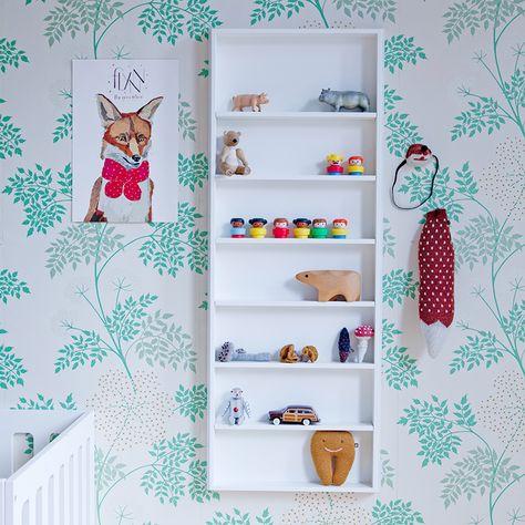 Oeuf NYC. That shelf!
