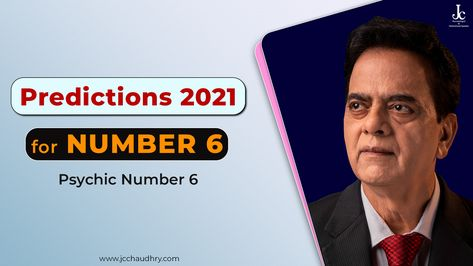 This numerology predictions video by J C Chaudhry talks about how the Year 2021 will be for people with Psychic Number 6. #numerology6 #numerology15 #numerology24 #numerology2021 #predictions #numerology #Predictions2021 #Year2021 #Jan2021 #January2021 #PsychicReading #Numerology #NumerologyReading #NumerologybyJCChaudhry #yearlypredictions #JCChaudhry #Numerologist #LuckyDay #LuckyColour #LuckyMonths #Numerologer #NewYearPredictions