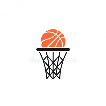 Basket And Ball Logo Stock Vector Affiliate Ball Basket Logo V Illustration Artwork Drawing Black Aesthetic Wallpaper Martin Luther King Jr Quotes