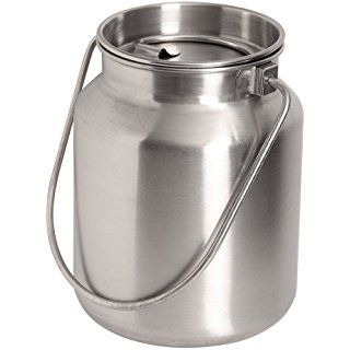 Lindy S Stainless Steel Gallon Jug Silver Steel Bucket Food Storage Containers Food Storage