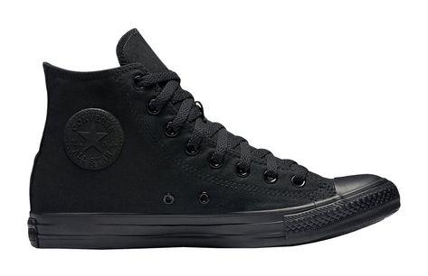 Converse All Star Chuck Taylor Shoes All Black Canvas Hi Top Men ...