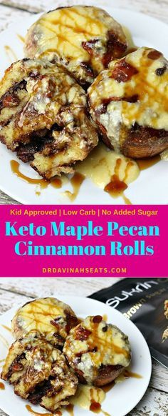 A quick keto-friendly recipe for cinnamon rolls that uses a modified version of fathead dough. I top these with maple cream cheese icing! #keto #ketodessert #ketocinnamonrolls #fatheaddough #lowcarbdessert #glutenfree #noaddedsugar #ketobreakfast  A quick keto-friendly recipe for cinnamon rolls that uses a modified version of fathead dough. I top these with maple cream cheese icing! #keto #ketodessert #ketocinnamonrolls #fatheaddough