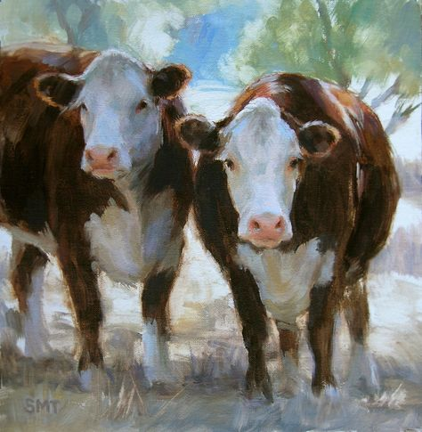 100+ Best Cow Town images | cow, cow art, cow painting
