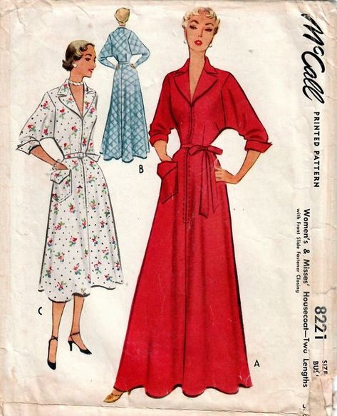McCalls 7319 Misses Dresses Pullover 14 22 Uncut SEWING Pattern FF