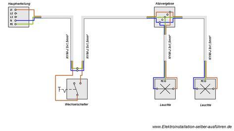 Steckdose an Wechselschaltung anschliessen (Lampe) | For the Home ...