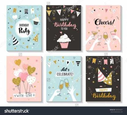 61 Trendy Party Invitations Card Diy Birthday Invitation Card Template Happy Birthday Greetings Birthday Cards