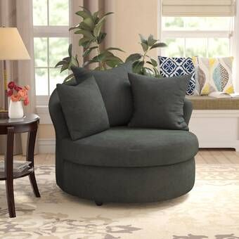 Pin By Leah Saunders On Chambre Adam Barrel Chair Swivel Barrel Chair Furniture