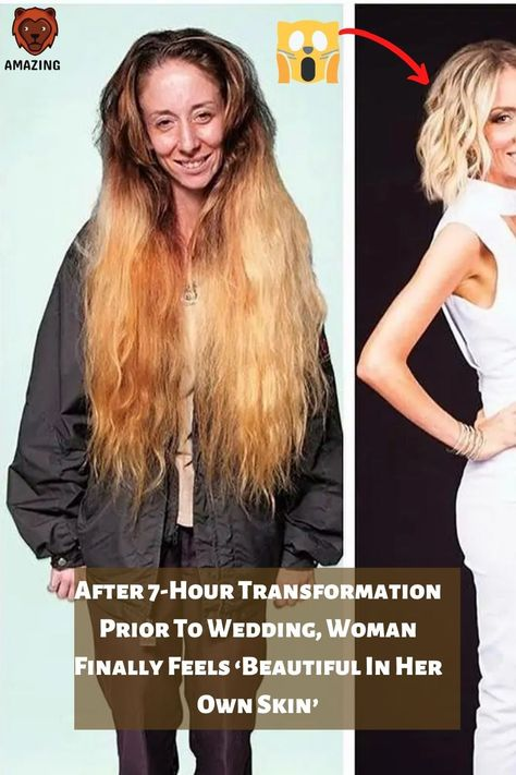 After 7-Hour Transformation Prior To Wedding, Woman Finally Feels 'Beautiful In Her Own Skin'