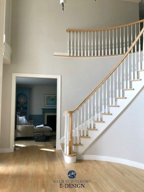 The 16 Best Paint Colours To Go With Oak Or Wood Trim Floor Cabinets And More Foyer Paint Colors Floor Paint Colors Oak Wood Trim