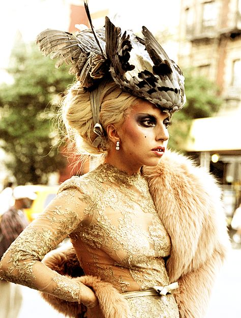 Lady Gaga: I used to be like alot of people and just thought she was just another singer icon that was too much in the fame. Then I read into her. She is a very amazing person. She stands for what she believes in and backs down for no one. Shes kind to everyone and loves to be herself. You go girl.