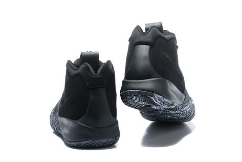"9e08ab84cd0a 2018 Nike Kyrie 4 ""Triple Black"" For Sale"