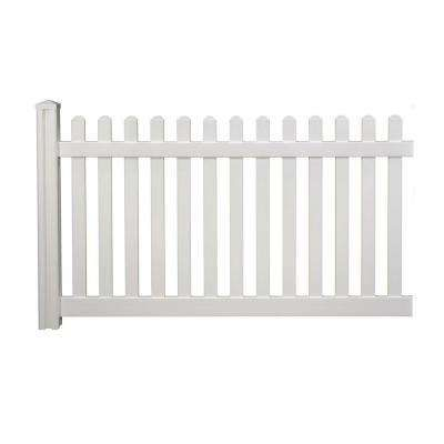 If You Like To Receive More The Awesome Ideas Related To White Fence Post Just Click Decoration In 2020 Vinyl Fence Panels Picket Fence Panels Classic Fence
