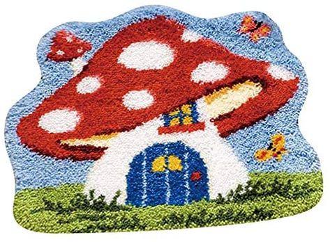 Indie Room Decor, Aesthetic Room Decor, Bedroom Decor, Funky Rugs, Cool Rugs, Latch Hook Rug Kits, Rug Hooking, Crochet Yarn, Diy Kits
