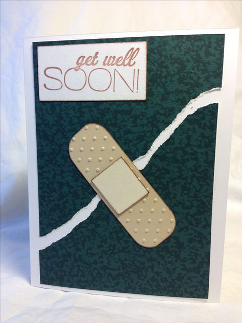 Easy get well card
