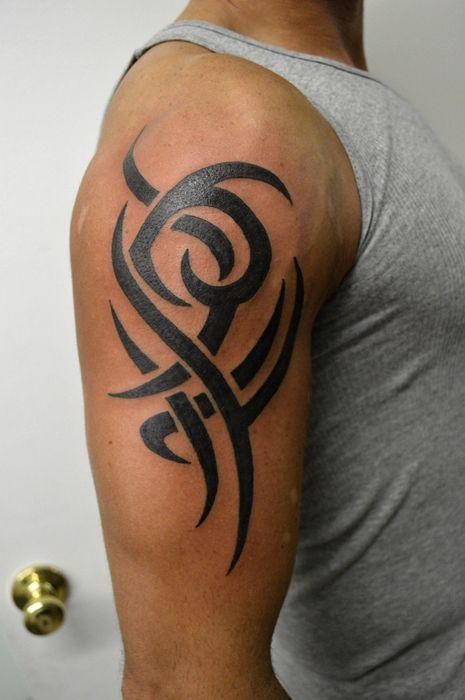 Tribal Samoantattoos Simple Tribal Tattoos Tribal Tattoos Upper Arm Tattoos For Guys
