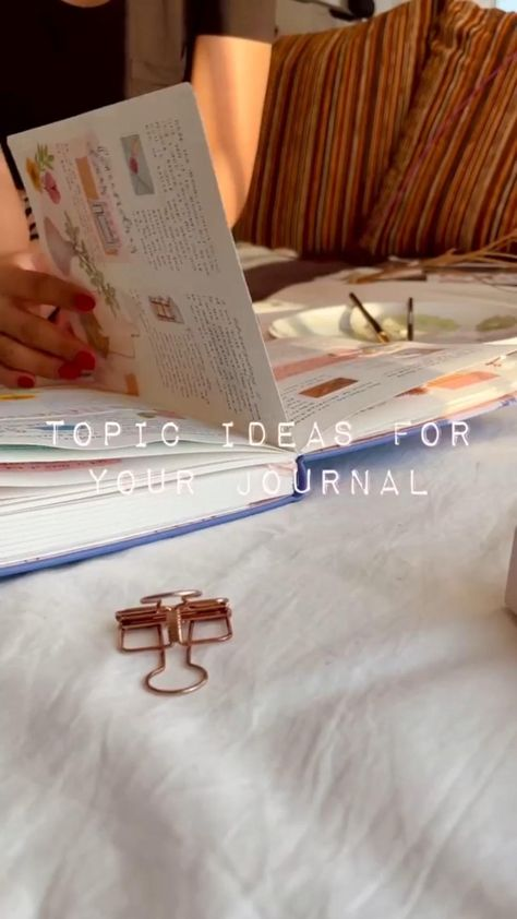 Ideas / Topics for Journaling
