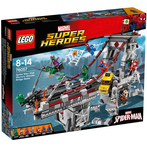 Lego 76057 Spider-Man Web Warriors Ultimate Bridge Battle BRAND NEW