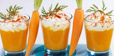 Cappuccino de carottes #recetas